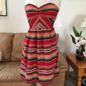 NWT ROXY STRAPLESS DRESS